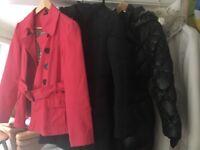 Set of 4 coats, size 10
