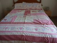 Single bed set with quilt