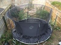 Brilliant 12 foot wide trampoline only £75