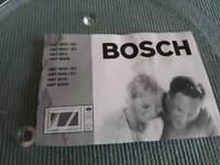 Bosch microve