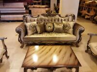 Ottoman style sofa and chair sets