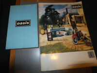 OASIS 'BE HERE NOW' GUITAR TAB & CHORD BOOK + OASIS 'TAKE ME THERE' BIOGRAPHY BOOK 1996