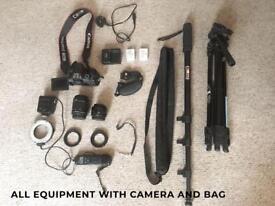 Cannon eos 700d + kit
