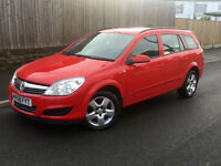 2008*VAUXHALL ASTRA 1.8 ESTATE*2 OWNERS*FULL SERVICE HISTORY*9 MONTHS MOT-NO ADVISORYS-WARRANTY