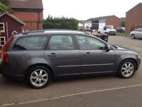 VOLVO V50 2.0 DIESEL ESTATE 2008 MOT AND FULL SERVICE HISTORY VERY CLEAN CAR CHEAP TO RUN
