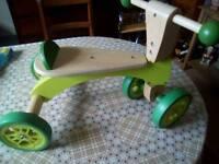 HAPE Wooden Bike / Trike