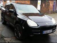 2005 54 PORSCHE CAYENNE 4.5L TURBO-S V8 AWD TIPTRONIC. EVERY EXTRA. MAY PX SWAP