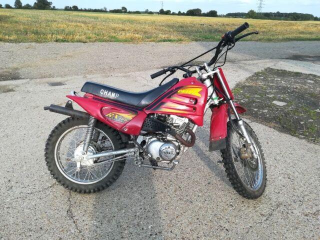 Cross CHAMP 100cc, dirt bike  16 wheels | in Thaxted, Essex | Gumtree
