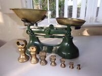 Traditional kitchen scales
