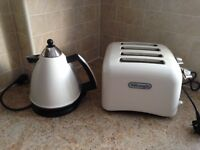 Delunghi kettle and toaster