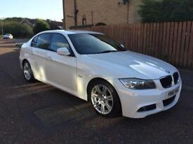 2011 BMW 318D M SPORT DIESEL £30 A YEAR TAX. FULL HISTORY AND LOW MILEAGE