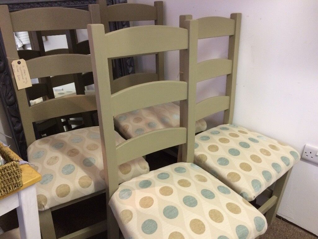 4 lovely dining chairs