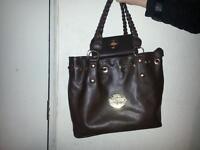mulberry handbag and matching purse