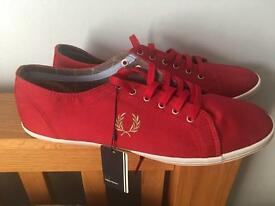 FRED PERRY KINGSTON SIZE 11 BRAND NEW NO BOX