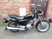 2014 Yamaha YBR Custom 125, long MOT, full service history, 1 owner, great runner, not cbf shadow ,,