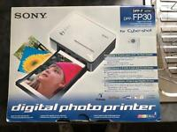 SONY DIGITAL PHOTO PRINTER ONLY USED ONCE