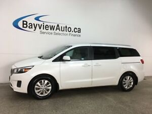 2018 Kia Sedona LX+ - ALLOYS! PUSH BTN START! HTD SEATS! PWR...