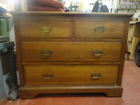 Walnut Chest of Draws