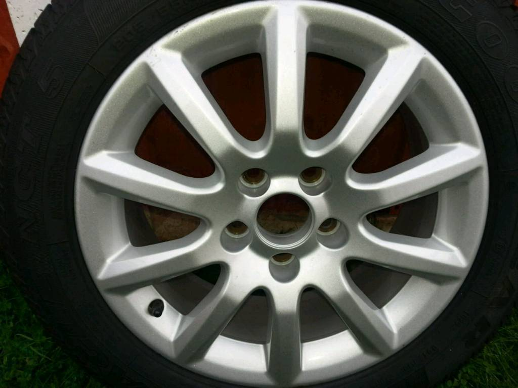 Brand New Vauxhall Astra/zafira Alloy wheel and Goodyear Tyre size 205/55/16