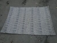 Sloan black and white rug 170cm by 120cm (£102 new) central London bargain