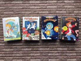 Futurama; DVD box sets: Seasons 1 -4 (complete)