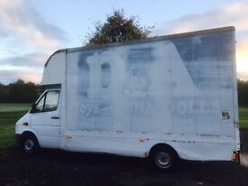 Mercedes Benz Sprinter Luton Removal Box lwb -Selling only the box!!!