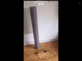 NEW GREY FLOOR LAMP