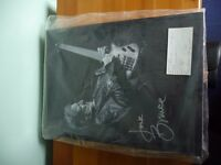 Bassists Jack Bruce ( Cream ) & Chris Squire ( YES ) Signed Merchandise ( Autographs & Signatures )