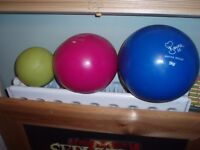 Davina McCall medicine balls set of three