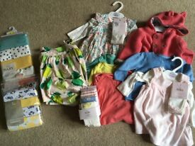 Baby girl clothes 0-6months swap for boys bundle