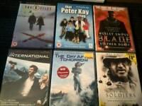 24 DVD MOVIES
