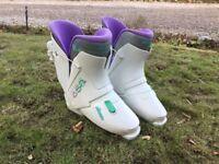 Ladies Nordica ski boots