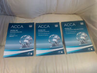ACCA P1 P2 books for sale