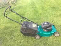 Power Base Lawn Mower