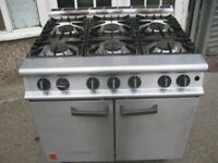 Falcon Dominator plus G3101/p 6 Burner Oven Cooker propane(LPG) gas oven range.
