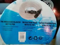7m suction hose for pump
