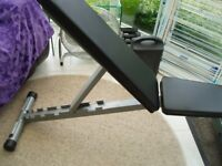Powerline Fitness Bench Semi-Professional Solid Weights Bench