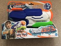 Nerf Super Soaker Freeze Fire Water Gun BRAND NEW