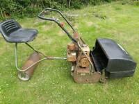 "Webb 24"" Ride On Cylinder Mower"