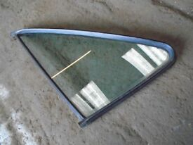 MK1 GOLF GTI GREEN TINT QUARTER GLASS, DRIVERS SIDE