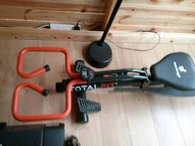 New image total fit rower