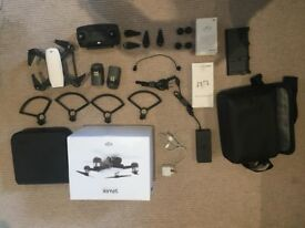 DJI Spark fly more combo with DJI Care insurance **LIKE NEW**