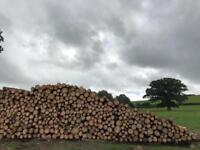 Quality dried seasoned hardwood firewood logs