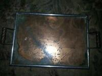 Beer Tray Antique