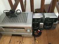 Sony surround system (receiver, CD player and speakers)