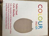 Brand new Mocha colour Toilet seat