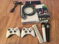 Xbox 360 20Gb, 2 controllers & media centre remote
