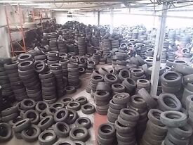 Part worn tyres wholesaler - Container loads - Nationwide delivery at cost of fuel - minimum order