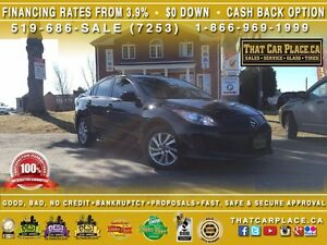 2013 Mazda MAZDA3 GS-SKY-$53/Wk-Htd Sts-USB/AUX/CD/Mp3-Cruise