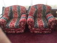LOVELY PAIR OF ARM CHAIRS LIKE NEW